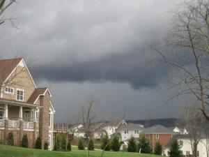 Shelf Cloud, March 24, 2012